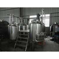 China Full-Automatic Small Beer Brewing Equipment Commercial 100L - 5000L wholesale