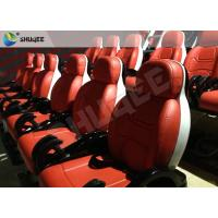 China Burning Blood Exciting Motion Mobile 5D Cinema With Luxurious Armrest Seats Two Years Warranty wholesale