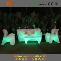 Color Changeable LED Lighting Hall and Room  Using Hotel Sofas with Remote Controller