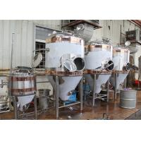 China 1500L Conical Beer Fermenter , Stainless Steel Fermentation Tanks wholesale