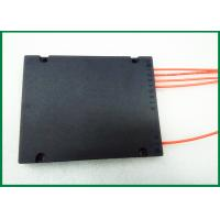 China 1x2 1x3 1x4 1xN fiber optic coupler ABS Box Type Telecom optical fiber splitter wholesale