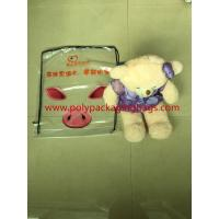 Buy cheap Custom large white transparent gift cartoon backpack plastic bag from wholesalers