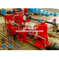 Buy cheap 2 stage Multistage Vertical Turbine Fire Pump Sets With Firefighting Diesel Engine Driven With 500 Usgpm from wholesalers