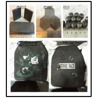 Buy cheap Ballistic Plates Utilise Materials Such As Boron / Silicon Carbide Bulletproof Plates from wholesalers