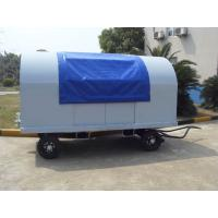 China Waterproof Airport Baggage Cart Square Tube Fixed Canopy 5 Units Behind Pull wholesale