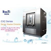 China Large Capacity 100kg Industrial Cloth Washing Machine Automatic Control System on sale