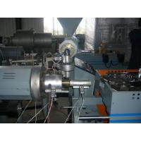 China PP / PE Single - Wall Corrugated Plastic Pipe Extrusion Machinery For Washing Machine wholesale