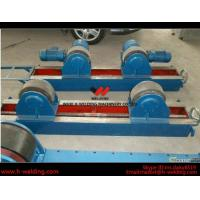 China Conventional 10 Ton Tank Welding Rotators for Boiler Industry , PU Roller Turning Rolls wholesale