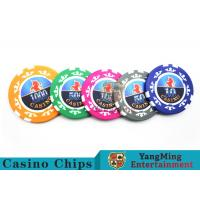 China High Precision Casino Poker Chip Set / Poker Table Set For Gambling Games wholesale