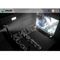 China Interactive 5D Projector Cinema Simulation 5D Theater System 5D Cinema Movie For Amusement wholesale
