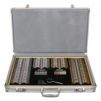 China Easy Carry On Optometry Trial Lens Set 158 PCS Accurate Optical Lens GLJ8158 wholesale