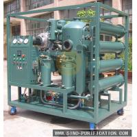 China Transformer Vacuum Oil Purifier Degassing Mobile Refinery High Precision wholesale