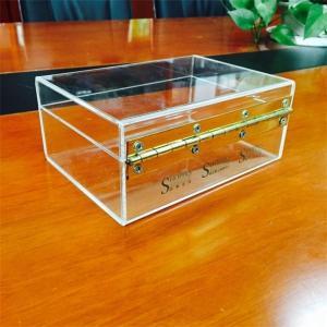 China Hot sale high quality plexiglass display box, clear acrylic display box on sale