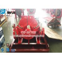 Buy cheap Horizontal Centrifugal Single Stage UL / FM Listed Split Case Fire Pump With NFPA 20 Standard from wholesalers
