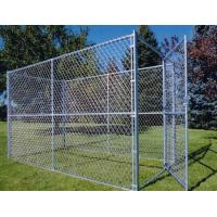 China 2.5mm Galvanized Chain Link Fence Galvanised Chain Link Fencing for Garden wholesale