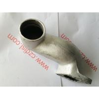 China Diesel Spare Parts Silencer Bend Exhaust Pipe Silicone Material For Cf1125 wholesale