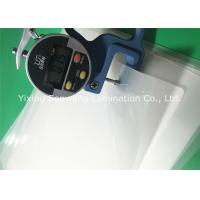 China Crack Resistance Pouch Laminating Film A4 Glossy 216x303mm For Luggage Tags wholesale