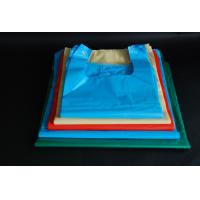 China Large Size Disposable Plastic Grocery Bags Flexo Printing For Fast Food Packing wholesale