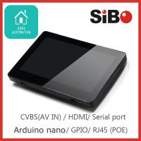 China Wall Mounted Touchscreen With SIP Protocol, PoE For Door Communication Solution wholesale