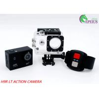 H9RLT 4G Waterproof Helmet Camera With 140 Lens , 2.4G Remote Control Camera