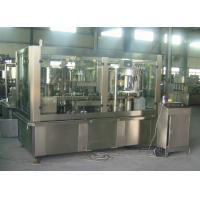 China Adjustable Sparkling Water PET Can Filling Machine Industrial Line 2000 Cans / Hour on sale