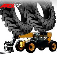 China APEX Telehandler Solid Tire for 20, 24, 25 inch Telescopic Handler Solid Cushion Tyre on sale