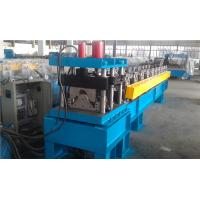 China Metal Roof Cutting Ridge Cap Roll Forming Machine With PLC Control wholesale