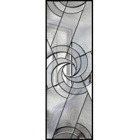 Buy cheap Beautiful Pattina Decorative Bathroom Window Glass Custom Glass Window Panels from wholesalers
