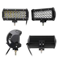 China 7 Inch Led Driving Light Bar 3 Row Die Casting Aluminum Housing Material wholesale