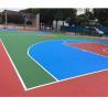China Elastic Children'S Playground Flooring , Futsal Court / Playground Base Materials wholesale