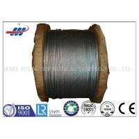 China 6*7+FC High Carbon Galvanized Wire Rope 1570-1770MPA Tensile Strength wholesale