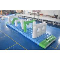 Swimming Pool Floating Inflatable Obstacle Course With Pvc Tarpaulin Of Inflatablewaterpark