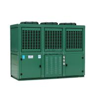 China Six Cylinders 2 Stage Cooler Condensing Unit Reciprocating With Mechanical Expansion Tube wholesale
