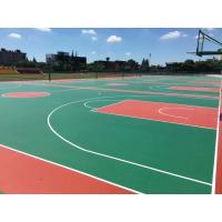 China School Rubber Athletic Flooring , Volleyball Court Colored Rubber Flooring wholesale