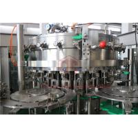 China Industrial 330ML Carbonated Drink Filling Machine Capping Labeling Production 1000BPH wholesale