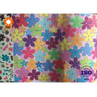 China Non Woven Printed 100% Pure White Polyester Felt Fabric For Kids Playing wholesale
