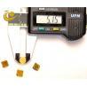 China Yellow Color Mono Diamond Single Crystal Diamond Plates High Hardnes wholesale