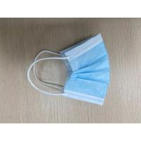 China Non Woven Civil Earloop Face Mask 1 Ply Meltblown / 2 Ply Nonwoven Material wholesale