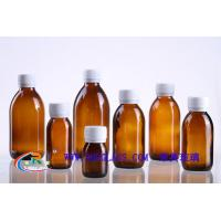 China amber glass bottle for syrup DIN28MM,various size 30ml,60ml,100ml,125ml on sale