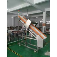 China 25 M/Min Inclined Auto Conveyor Belt Metal Detector For Wet Foods Checking on sale