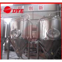 China 1000L Industrial Beer Brewing Equipment With Pressure Relief Valve wholesale