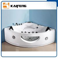 China Luxury Sector Jacuzzi Corner Bathtub , 2 Person Whirlpool Bathtub For Small Space wholesale