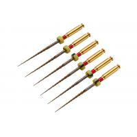 Buy cheap Single Use Safety Endo Rotary Files Mono Gold For Root Canal Preparation from wholesalers
