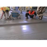 China Quick Setting Garage Floor Self Levelling Compound Flow Automatically 4-8 Hours Curing Time wholesale