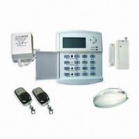 China Wireless GSM Home Security Burglar Alarm System, Auto Dialing Dialer SMS Call SIM on sale