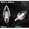 Buy cheap LED Candle Lamp led bulb led light E27 E14 crystal material from wholesalers