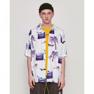 China OEM Short Sleeve Button Up Shirts wholesale