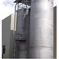 China 15 Tons OEM Plastic Raw Material Storage Tank for Central Feeding System wholesale