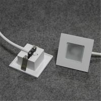 Buy cheap New design lighting with square shape, 1w or 3w, wall recessed, warm white from wholesalers
