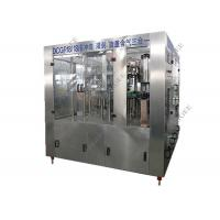 China Small Plastic Bottle Carbonated Drink Filling Machine 32 Rising Heads 6kw on sale